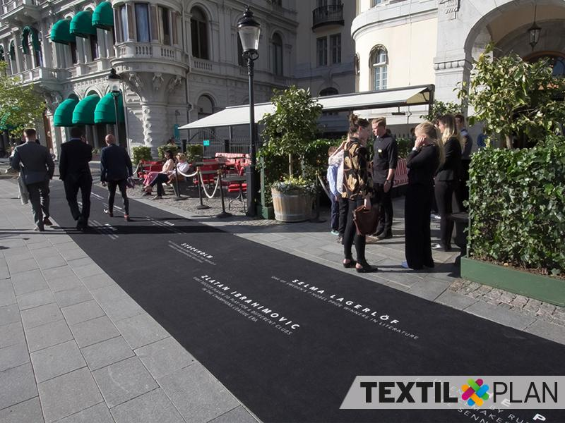 Textilplan Red Carpet